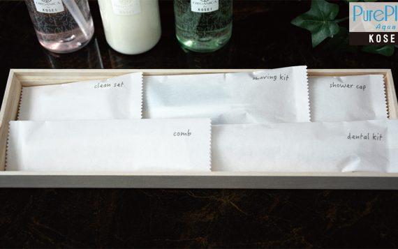 Chuyên cung cấp bộ bao bì pureplus aqua cho khách sạn