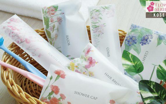 Ưu điểm và thiết kế của bộ bao bì cho khách sạn Flower là gì?