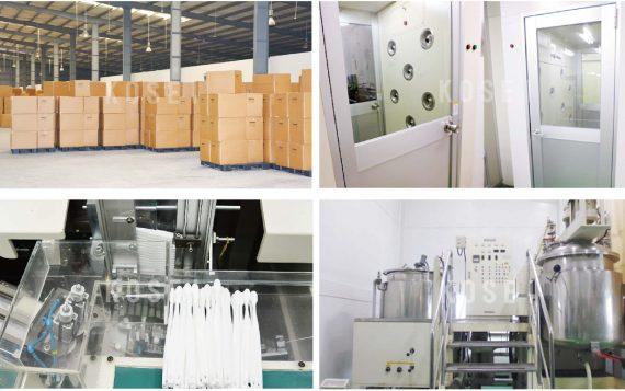 Quy trình sản xuất các sản phẩm tại nhà máy Kosei Amenities