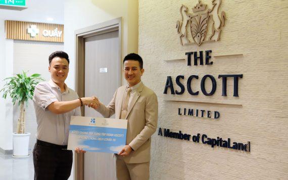 Kosei đồng hành cùng The Ascott phòng chống dịch Covid-19