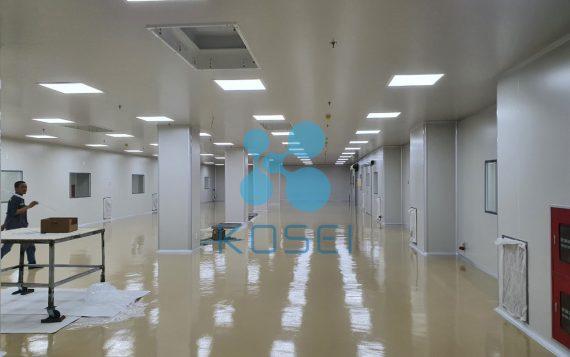 Tiến độ xây dựng nhà máy Kosei Cosmetics cập nhật 17.07.2020