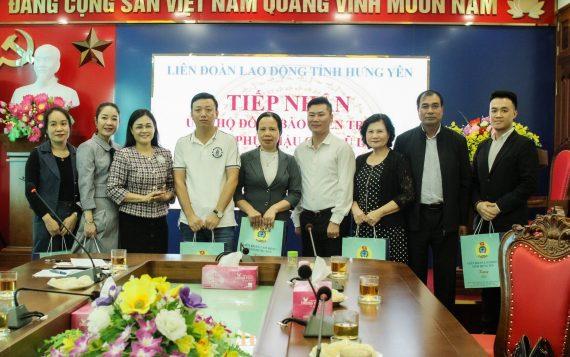 KOSEI đồng hành cùng tỉnh Hưng Yên ủng hộ đồng bào miền Trung khắc phục hậu quả bão lũ