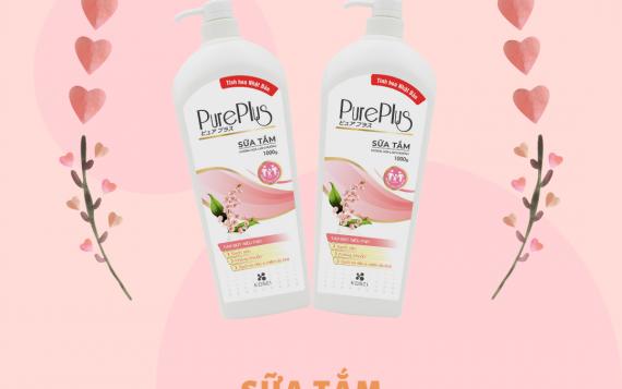 Sữa tắm Pure Plus – Hương hoa lan chuông