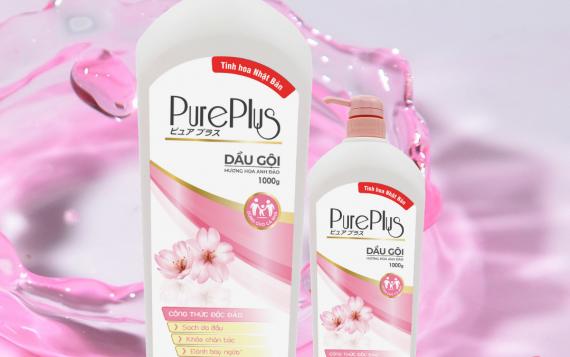 Dầu gội Pure Plus – Hương hoa anh đào